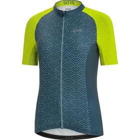GORE WEAR C3 Ondasia Maillot Mujer, nordic blue/citrus green